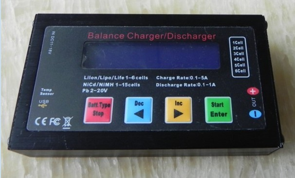 New B6S+ BALANCE CHARGER/DISCHARGER